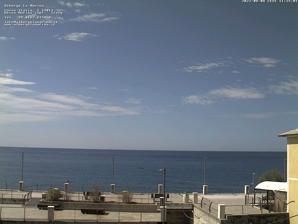 Webcam Deiva Marina Cinque Terre SP&nbsp;Live webcamera
